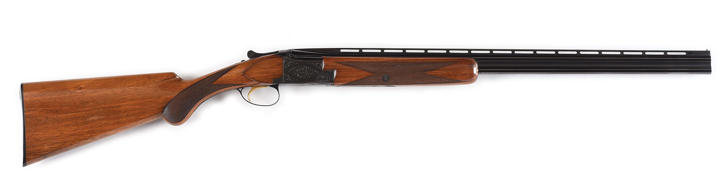 (C) SCARCE EARLY 60S .410 BROWNING SUPERPOSED SHOTGUN WITH EXTRA BARRELS AND CASE.