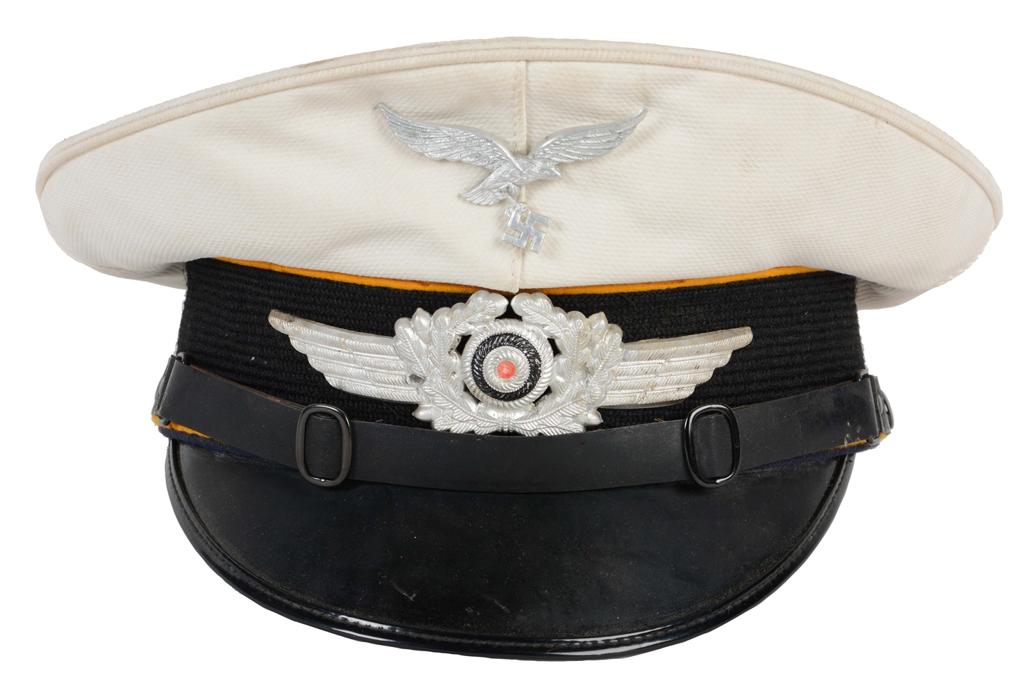 German WWII Luftwaffe Summer Visor for Flight/Paratrooper.