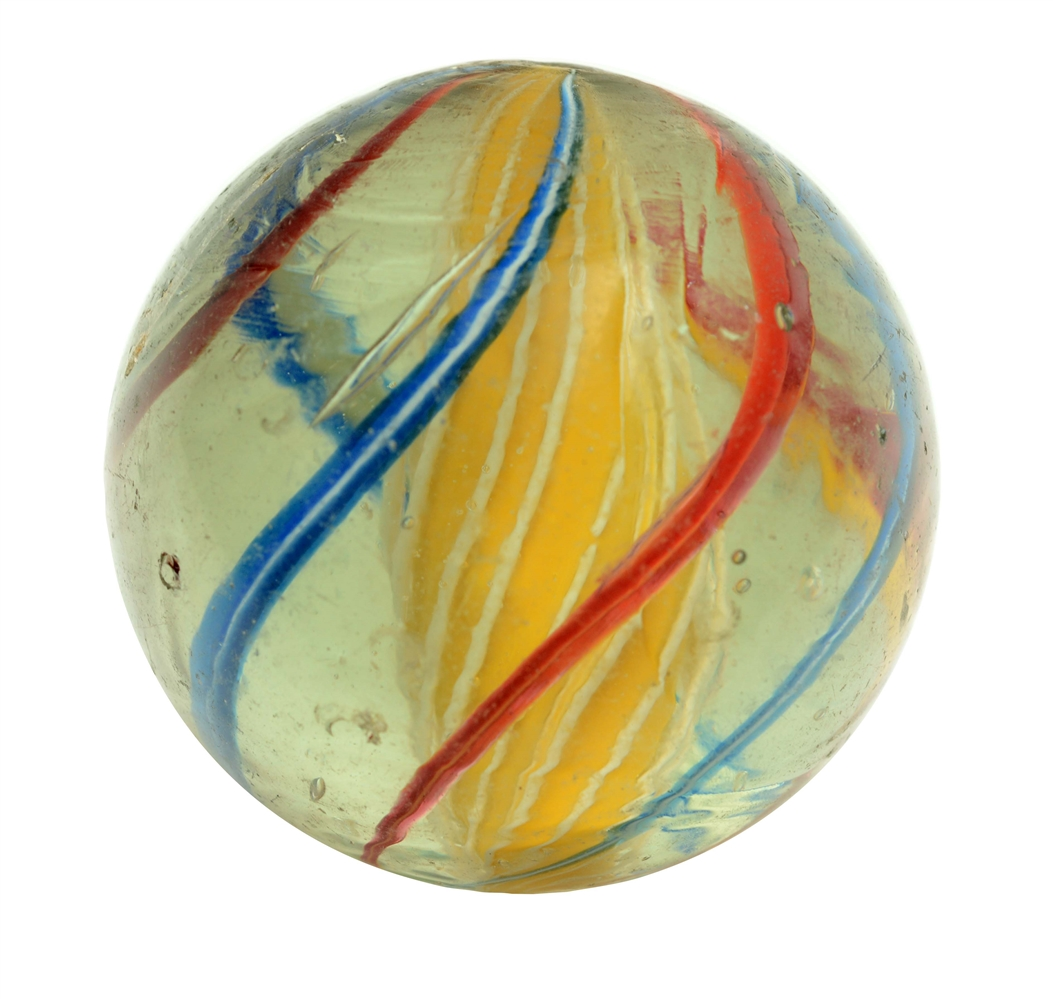 Large Three Stage Swirl Marble.