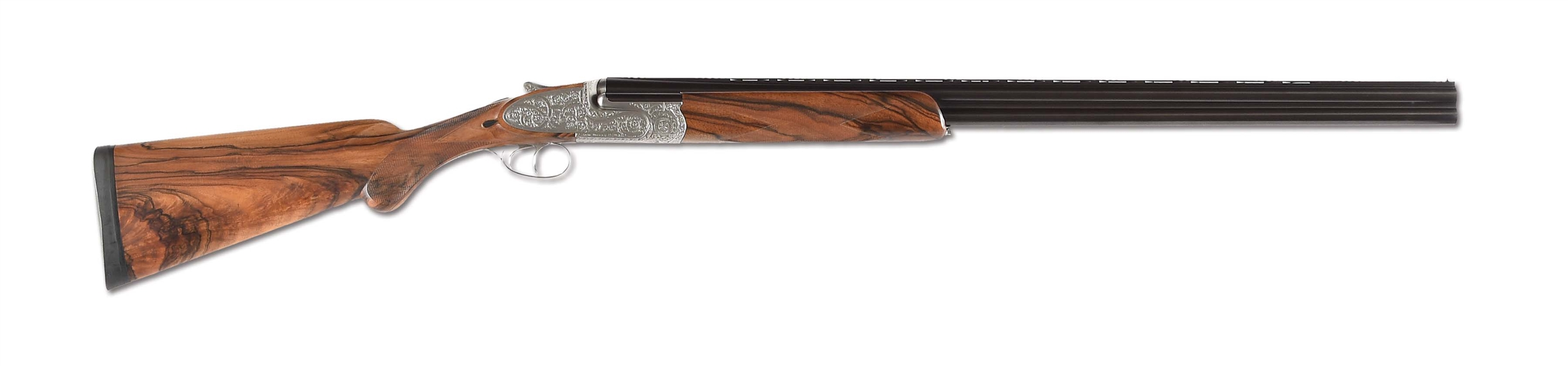 "(M) INNOVATIVE 20 GAUGE JOHN WILKES LONDON ""SPECIAL SERIES"" OVER-UNDER SIDELOCK EJECTOR SHOTGUN ENGRAVED BY GARY GRIFFITHS WITH CASE."