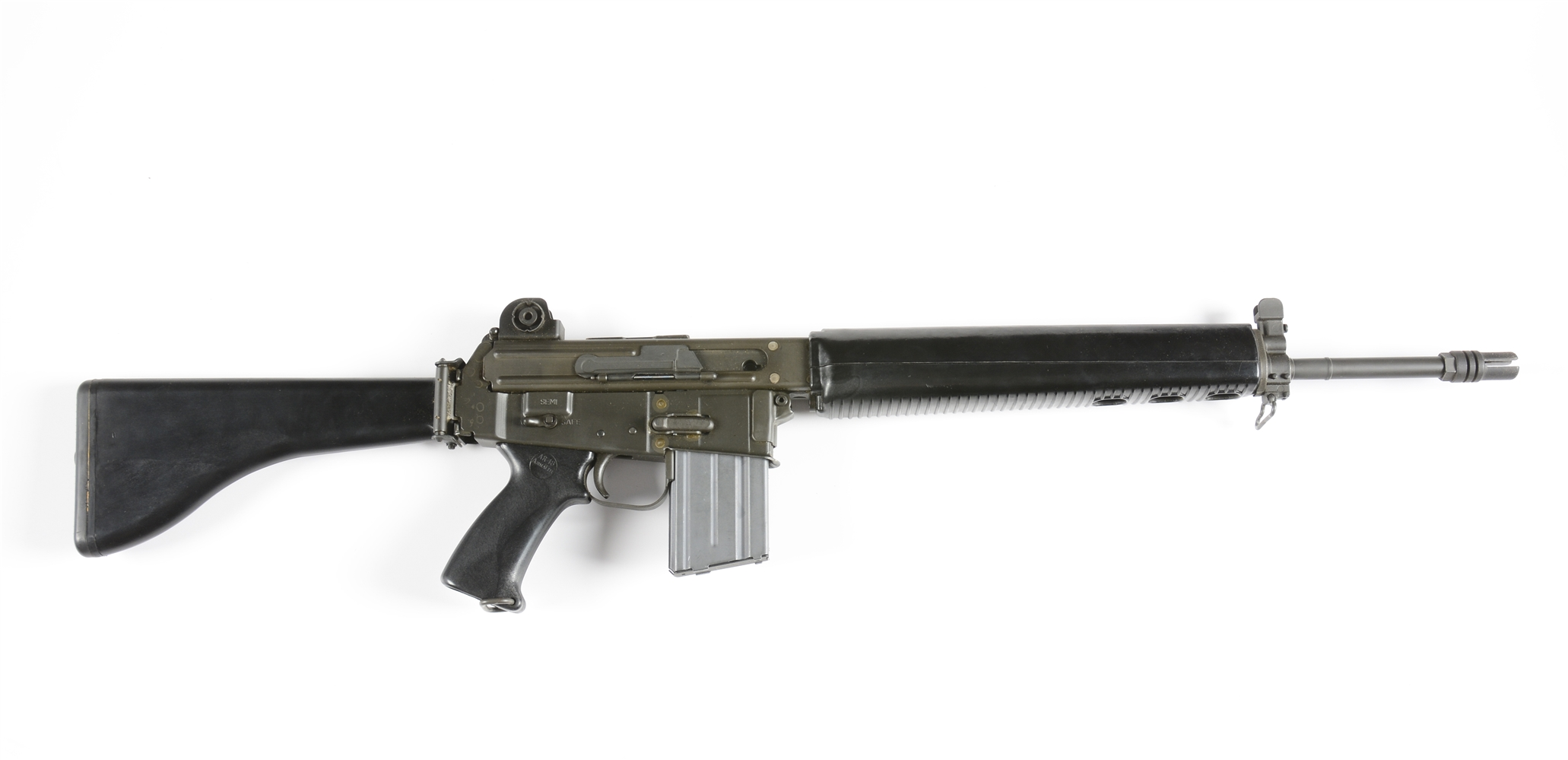 (N) NEW IN BOX ARMALITE AR-18 MACHINE GUN (FULLY TRANSFERABLE).