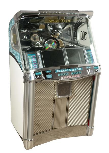 Lot Detail - Coin-Op Wurlitzer 2100 Classic Jukebox