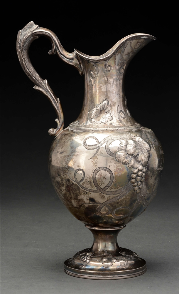 American Silver Presentation Water Pitcher.
