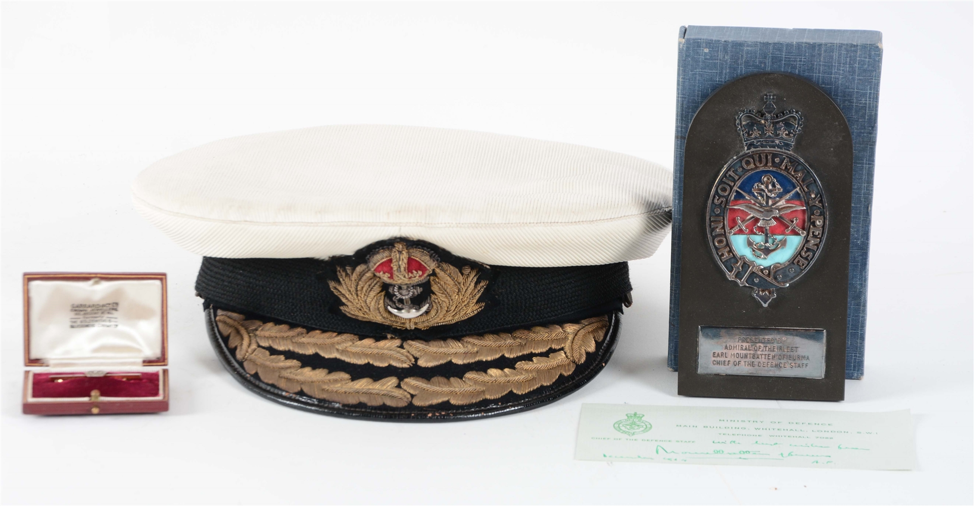 Lot Of 3: Items Relating To Lord Louis Mountbatten.