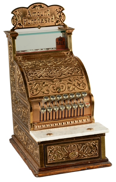 Lot Detail - National Cash Register Brass Candy Store Model 250