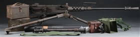 (N) FANTASTIC CONDITION AND HIGHLY COLLECTIBLE U.S. COLT M2 HEAVY BARREL MACHINE GUN (CURIO & RELIC)