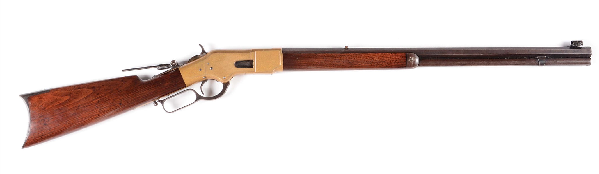 (A) CLASSIC WINCHESTER MODEL 1866 LEVER ACTION RIFLE
