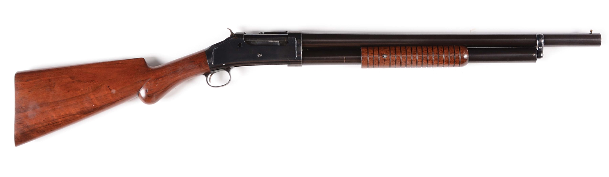 (A) EXCEPTIONAL WINCHESTER MODEL 1893 RIOT SHOTGUN ONE OF CONSECUTIVE PAIR