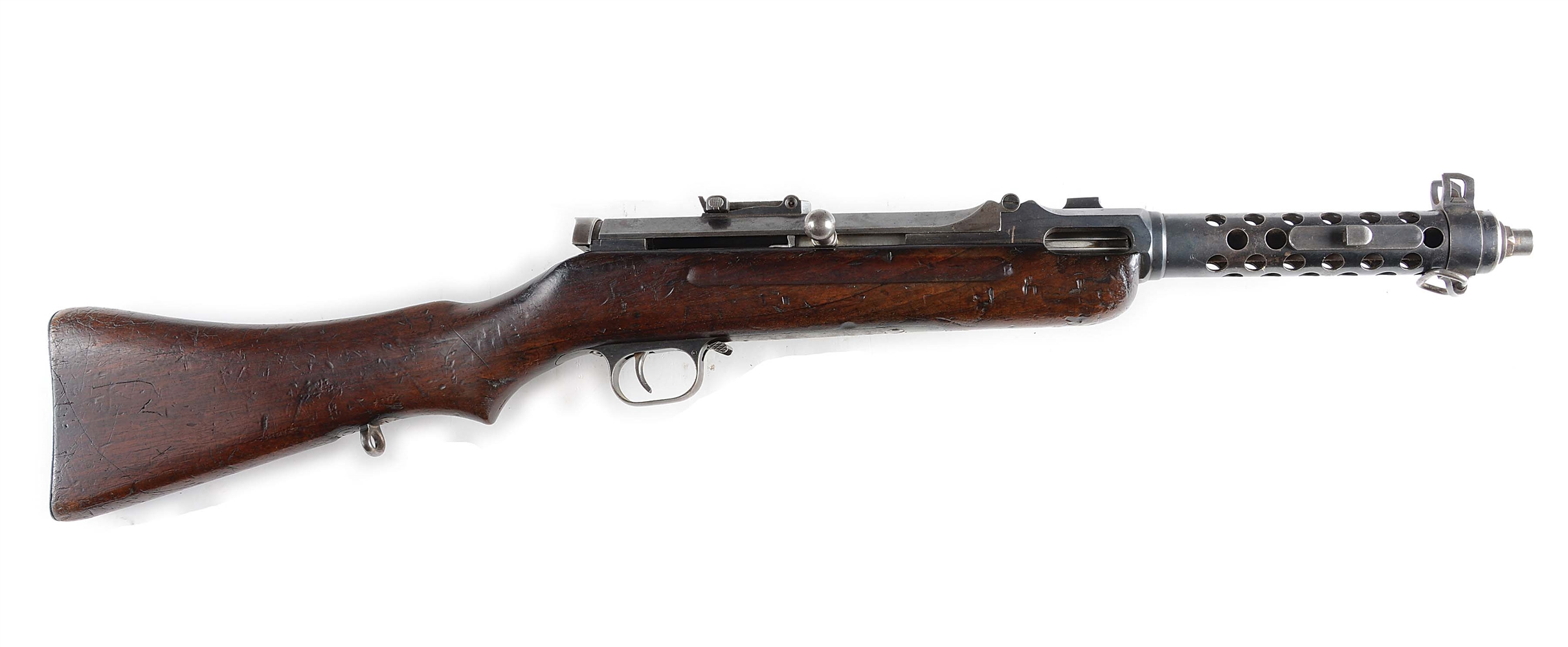 (N) REGISTERED DEACTIVATED STEYR MP30 (GERMAN WW2 MP-34O PREDECESSOR) MACHINE GUN (CURIO & RELIC)(DEACTIVATED STATUS)