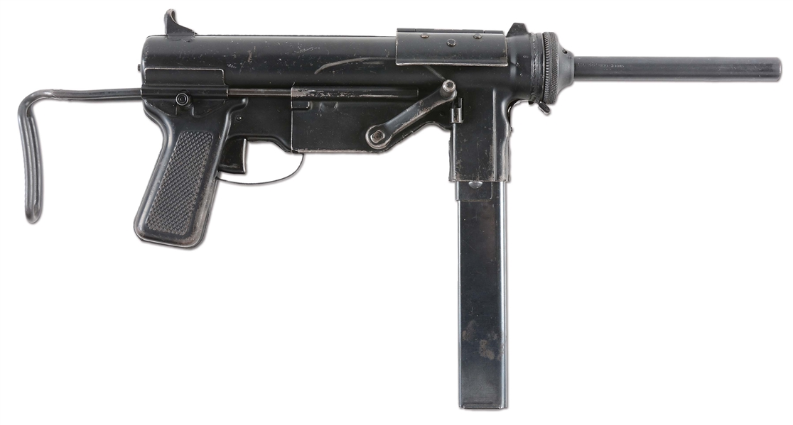 "(N) FINE CONDITION GUIDE LAMP M3 ""GREASE GUN"" MACHINE GUN (CURIO AND RELIC)."