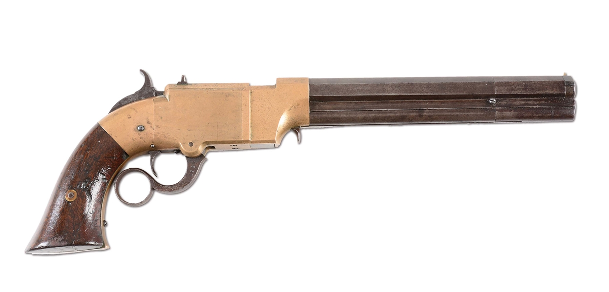 (A) VOLCANIC REPEATING ARMS COMPANY LEVER ACTION PISTOL.