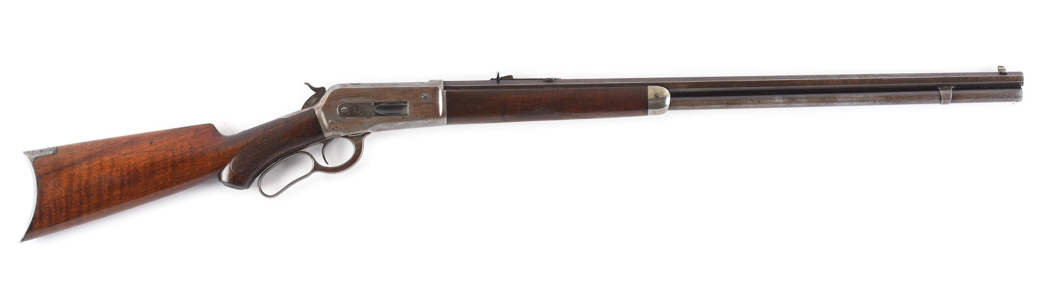 (C) SPECIAL ORDER DELUXE WINCHESTER MODEL 1886 LEVER ACTION RIFLE (1900).