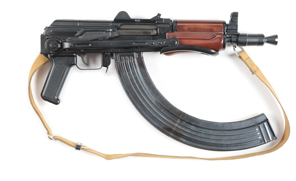 "(N) VERY SHORT AND COMPACT ITM ARMS CO ""PETER FLEIS"" CONVERTED MK-99 (*AK-47 LOOK ALIKE) SEMI-AUTOMATIC SHORT BARRELED RIFLE (SHORT BARREL RIFLE)"