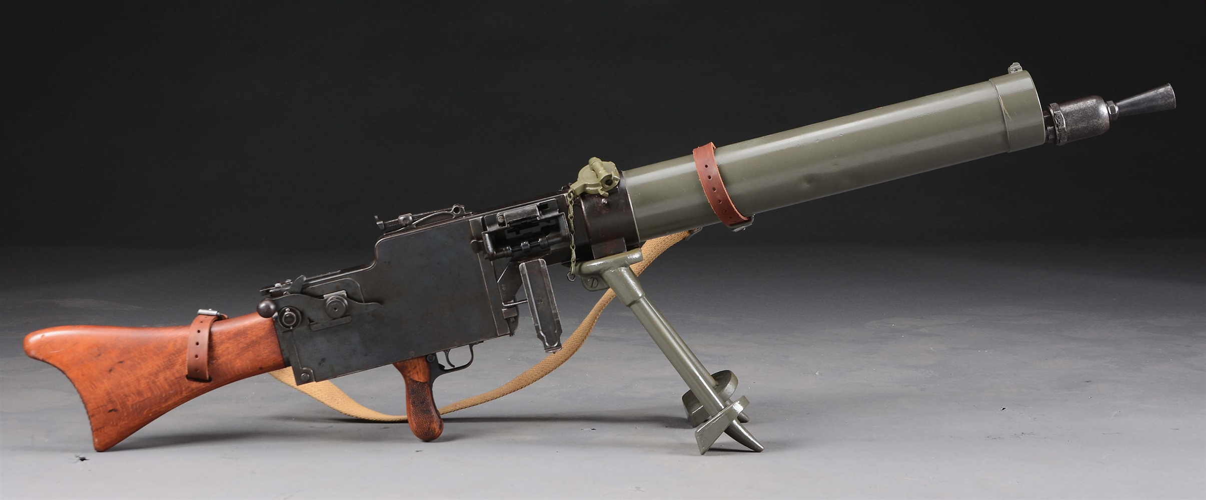 (N) WELL ACCESSORIZED ATTRACTIVE AND DESIRABLE GERMAN WW1 MG 08/15 MAXIM MACHINE GUN (CURIO AND RELIC)