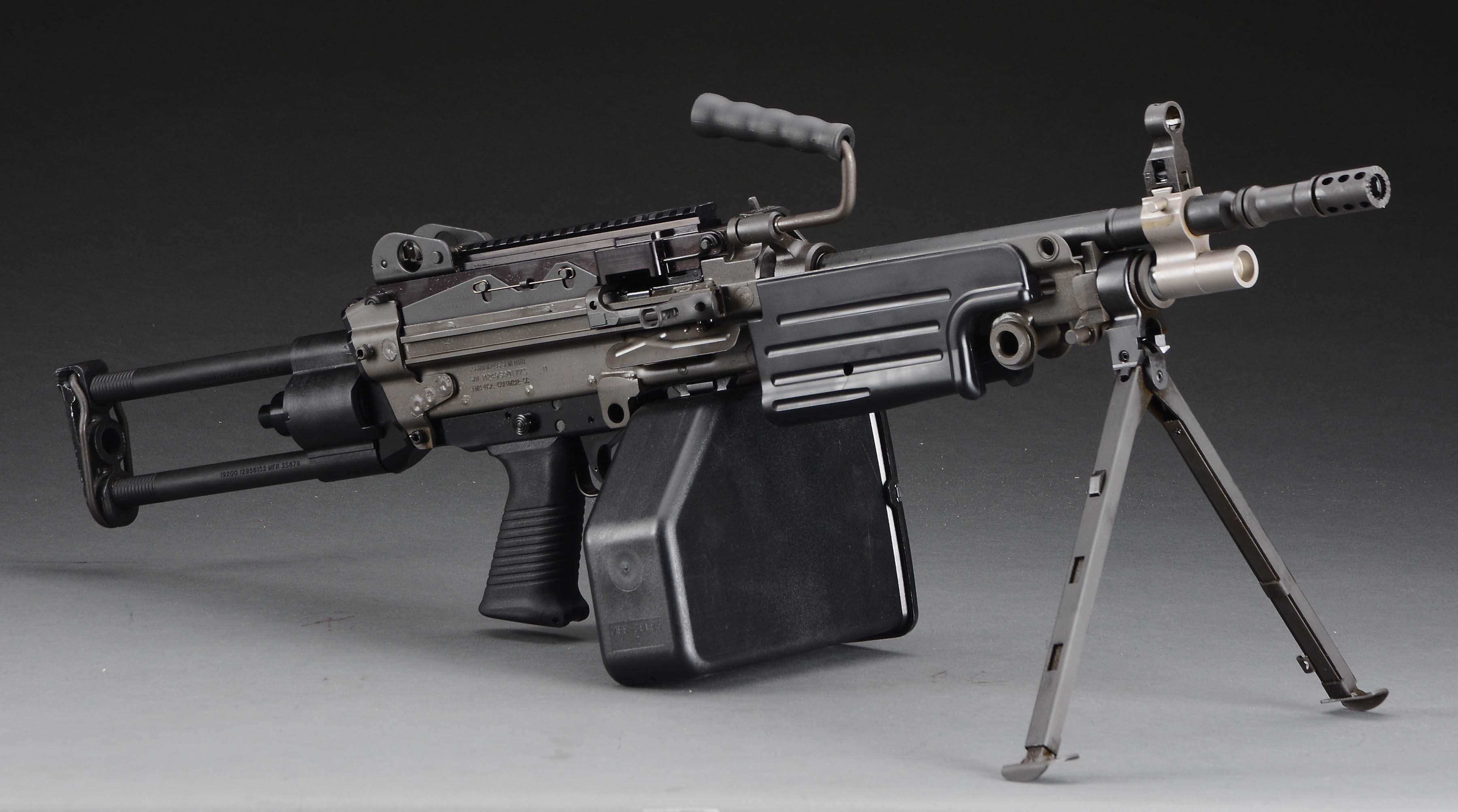 Lot Detail - (M) FN USA M249 SAW SEMI AUTOMATIC RIFLE.