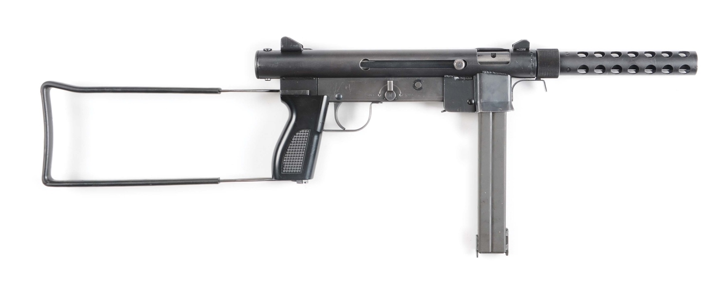 "(N) DESIRABLE VIET-NAM ERA ""T"" PREFIX SMITH & WESSON MODEL 76 MACHINE GUN (FULLY TRANSFERABLE)"