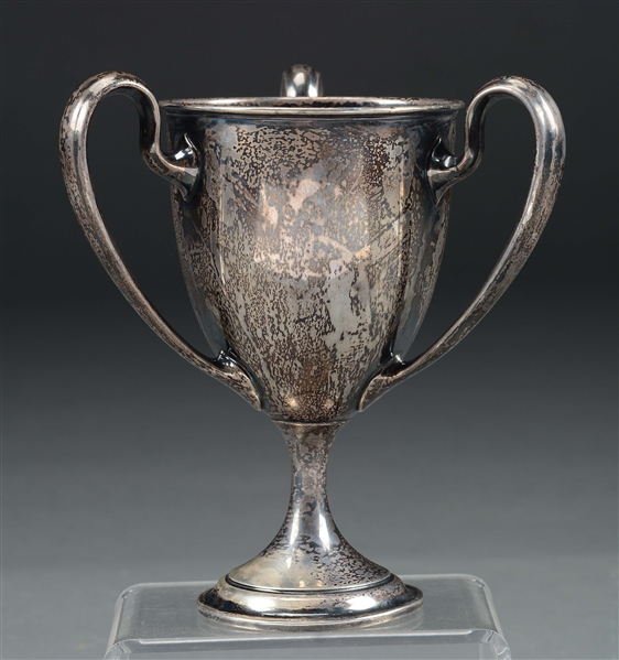 "FANTASTIC STERLING SILVER SHOOTING TROPHY WON BY ARTHUR W. DUBRAY ""THE GAUCHO"" IN 1904 DURING HIS TIME IN KENTUCKY"