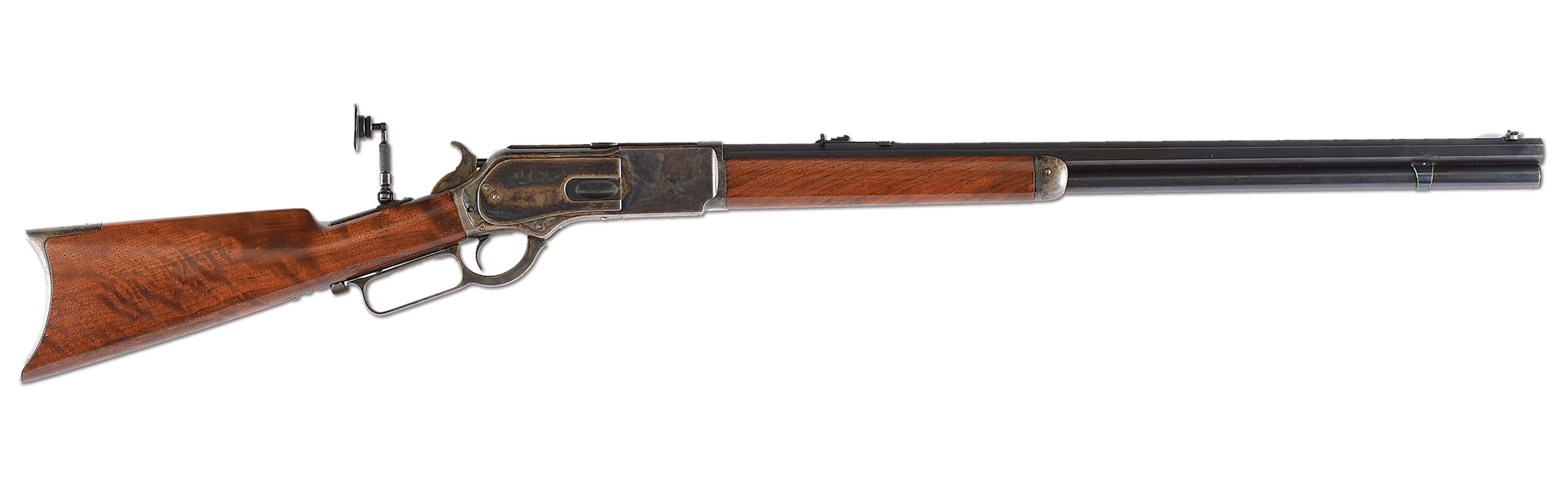 (A)OUTSTANDING CASE COLOR 1876 WINCHESTER IN 50 EXPRESS CALIBER