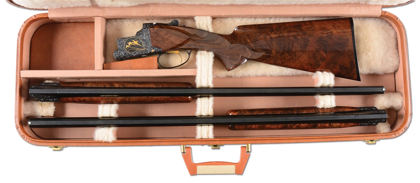 Lot Detail - (M) RARE AND BEAUTIFUL CASED BROWNING