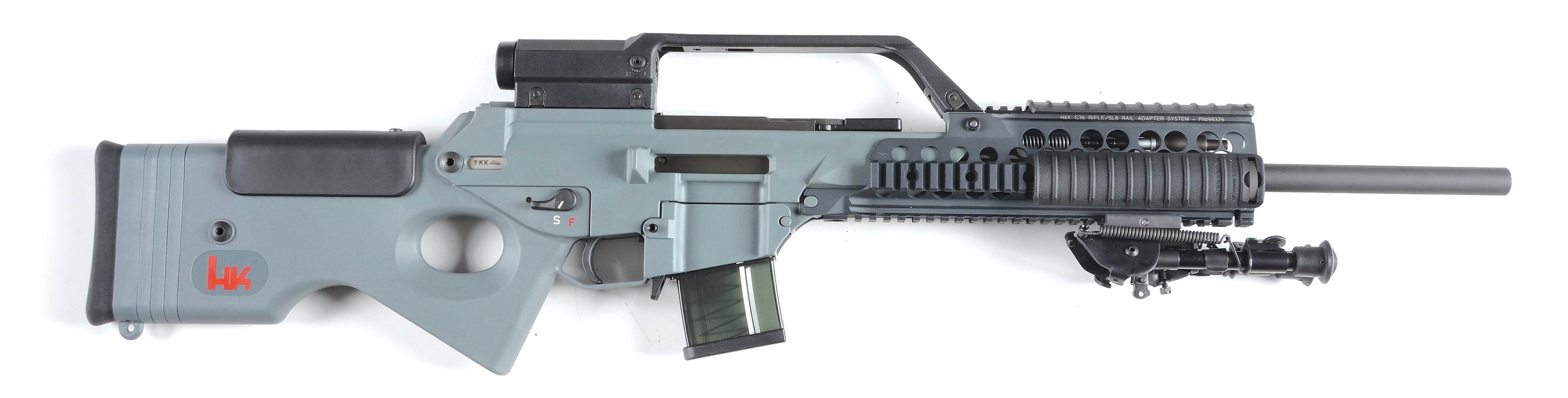 (M) HK SL8-1 Semi-Automatic Rifle.