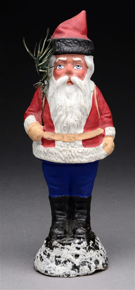 Santa Candy Container.