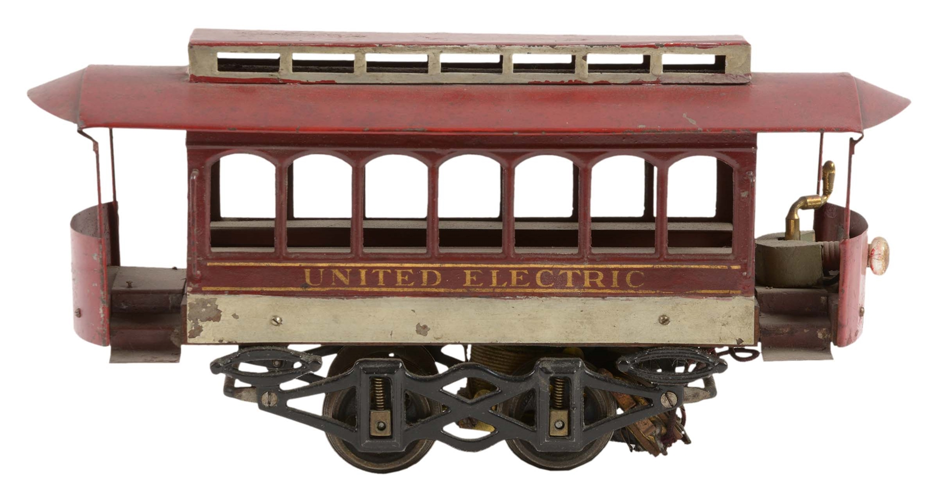 Early Voltamp United No. 2120 Electric Trolley.