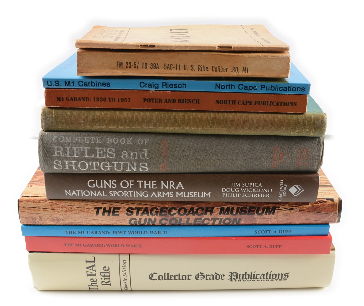 Large Lot of 27 Assorted Firearms Reference Books.
