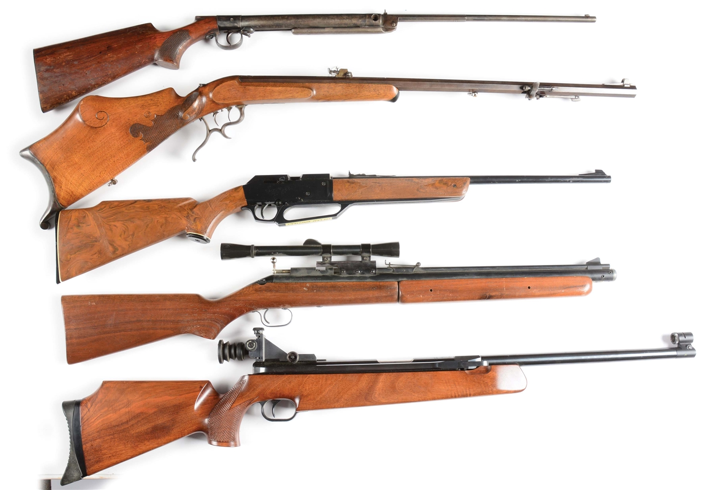 Lot of 5: Fantastic Collection of Collectible Air Rifles.