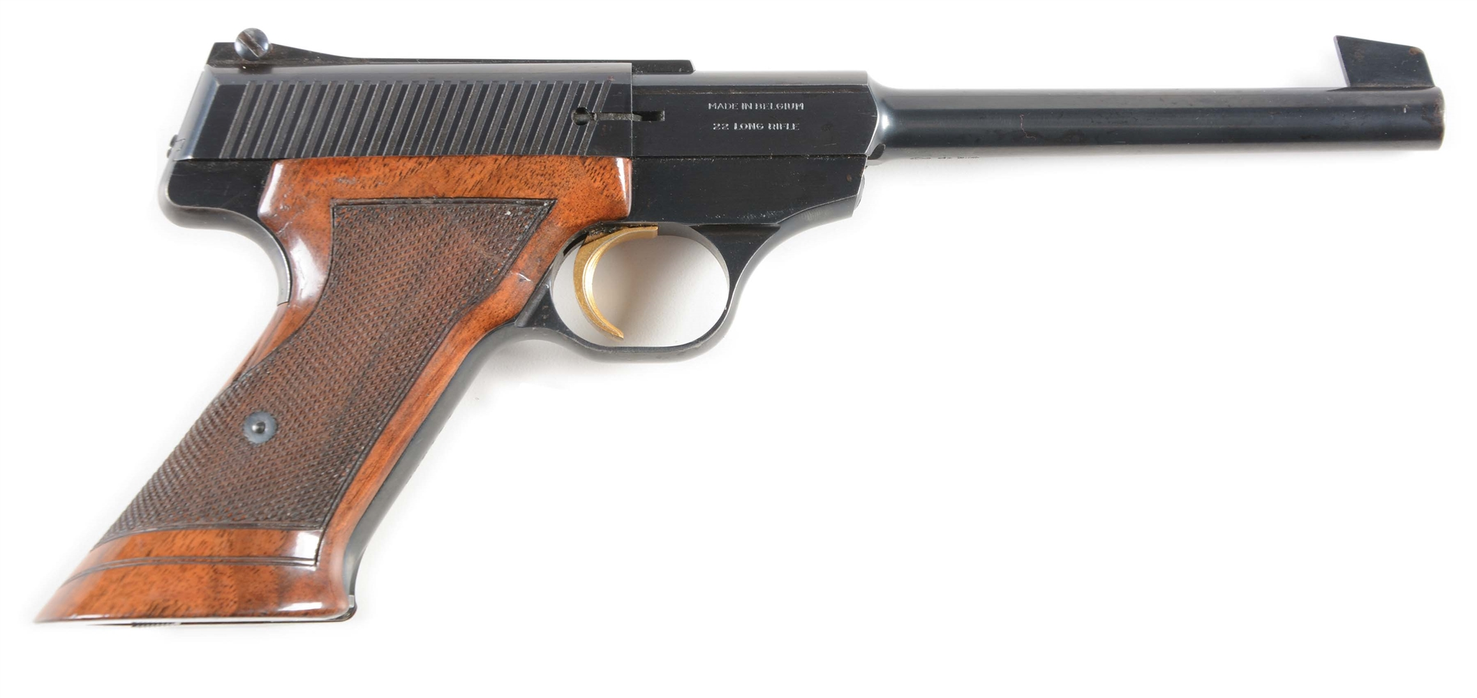 (C) Browning Challenger Semi-Automatic Pistol.