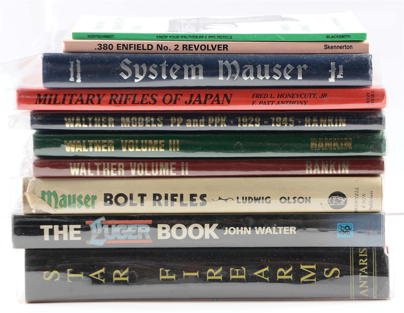 Lot of 10: Firearms Reference Books.