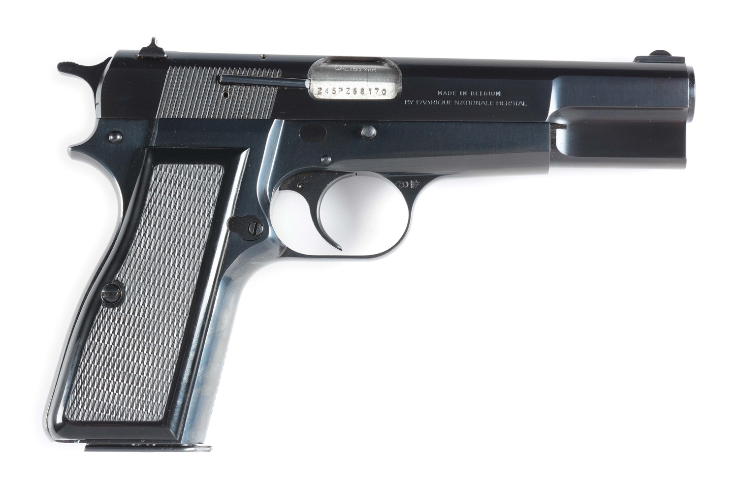 (M) Scarce Browning Hi-Power Semi-Automatic Pistol in 7.65mm.