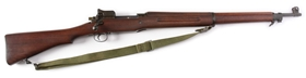 (C) US Eddystone Model 1917 Bolt Action Rifle.