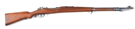 (C) Mauser Argentino Model 1909 Bolt Action Rifle.