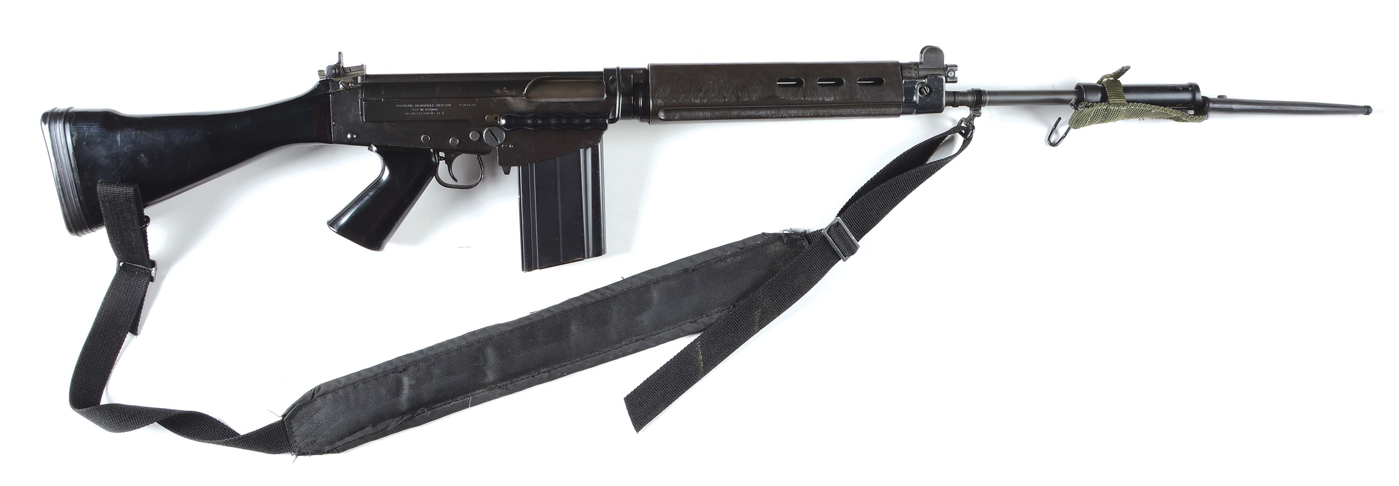 (M) Fabrique Nationale FAL 50.00 Match .308 Semi-Automatic Rifle With Bayonet.