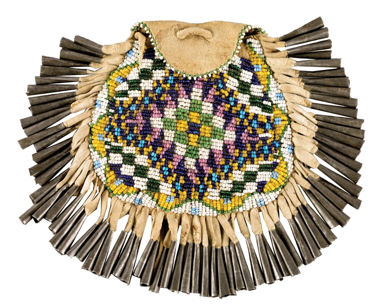 Apache Beaded Bag.