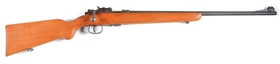 (C) Military Type MAS 45 .22 Caliber Bolt Action Rifle.