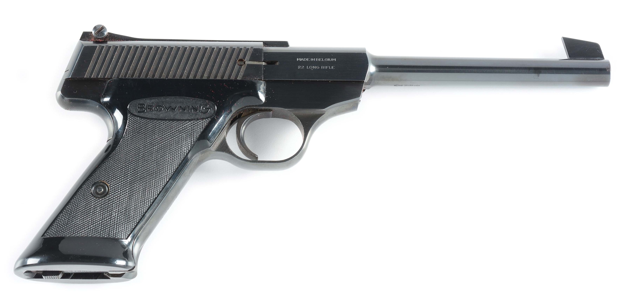 (C) Browning Nomad Semi-Automatic Pistol (1967).