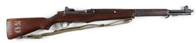 (C) International Harvester M1 Garand Semi-Automatic Rifle.
