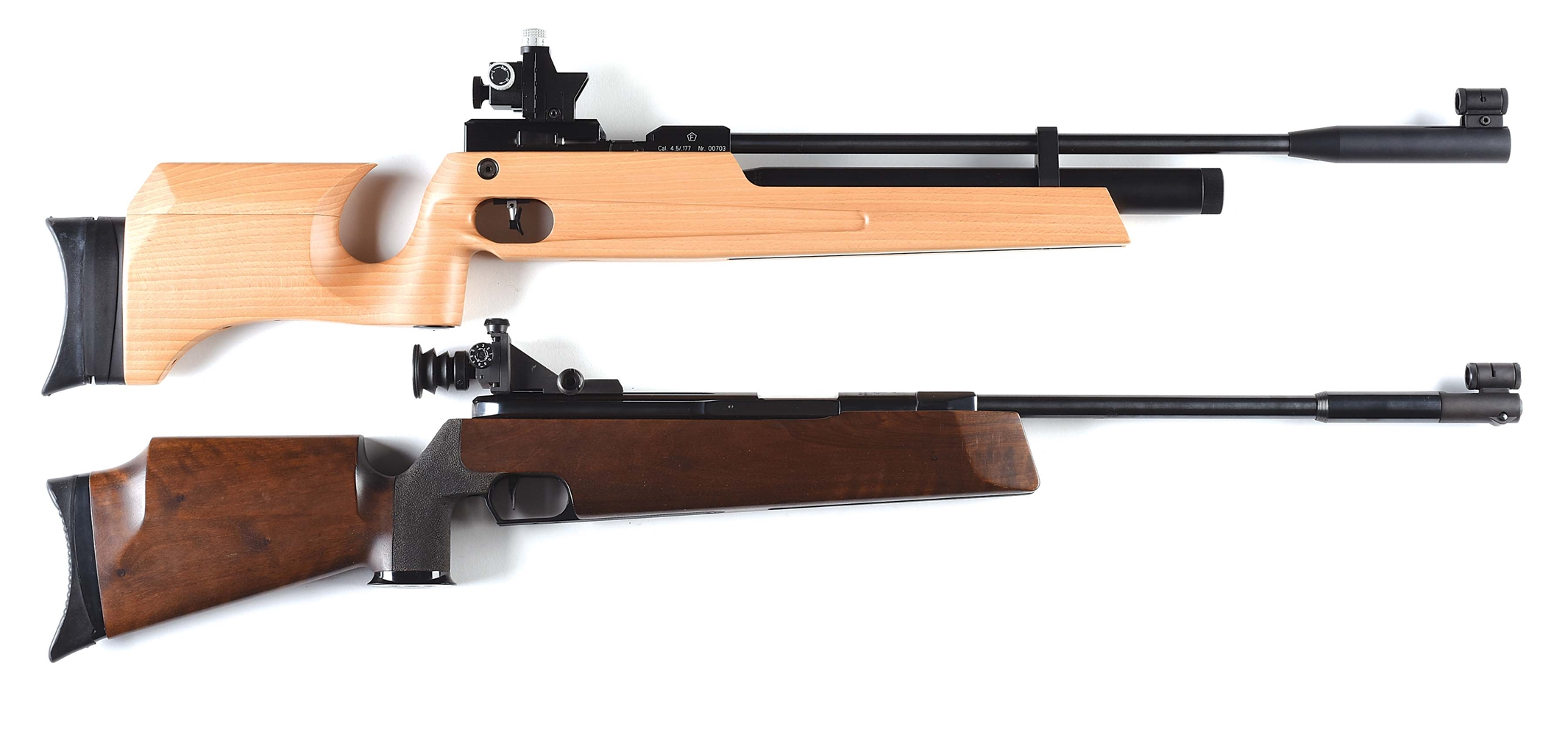 Lot of 2: NIB Hammerli AR-50 Air Rifle With Box and Accessories and Daisy Imported Feinwerkbau 300S Air Rifle.