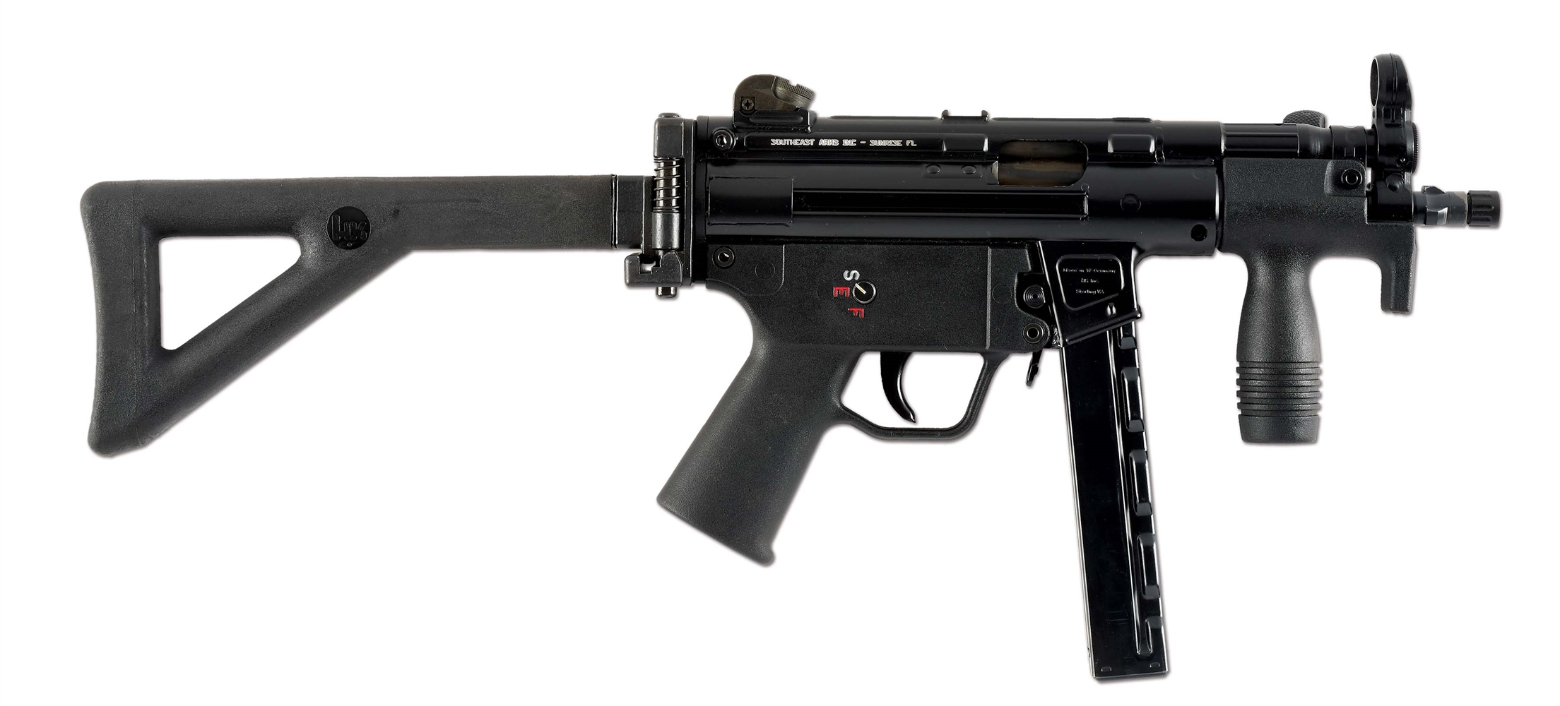 (N) SOUTHEAST ARMS RDTS CONVERTED HECKLER & KOCH MP5K-N SEMI-AUTOMATIC SHORT BARRELED RIFLE (SHORT BARRELED RIFLE).