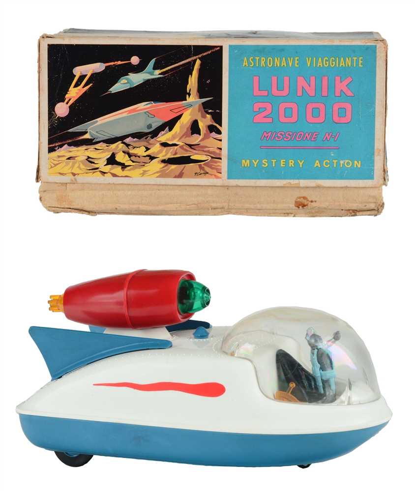 Plastic Battery Operated Lunik 2000.