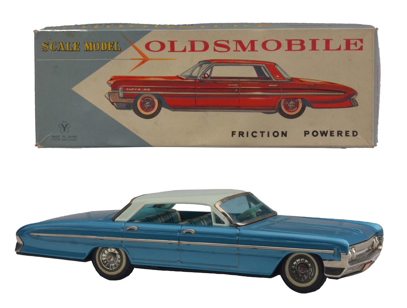 Tin Litho and Painted Oldsmobile Super 88.