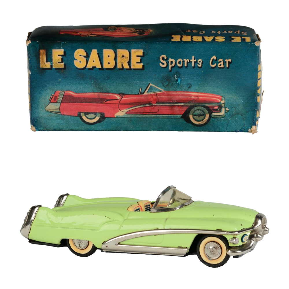Tin Litho and Painted Friction Buick Le Sabre.