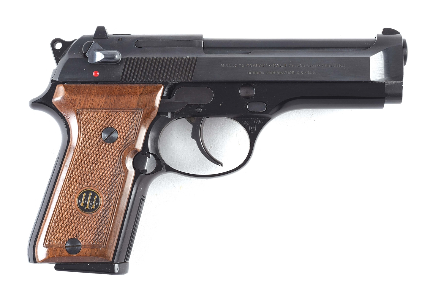 (M) Beretta 92SBC Semi-Automatic Pistol, Documented Use At The 1984 Olympics.
