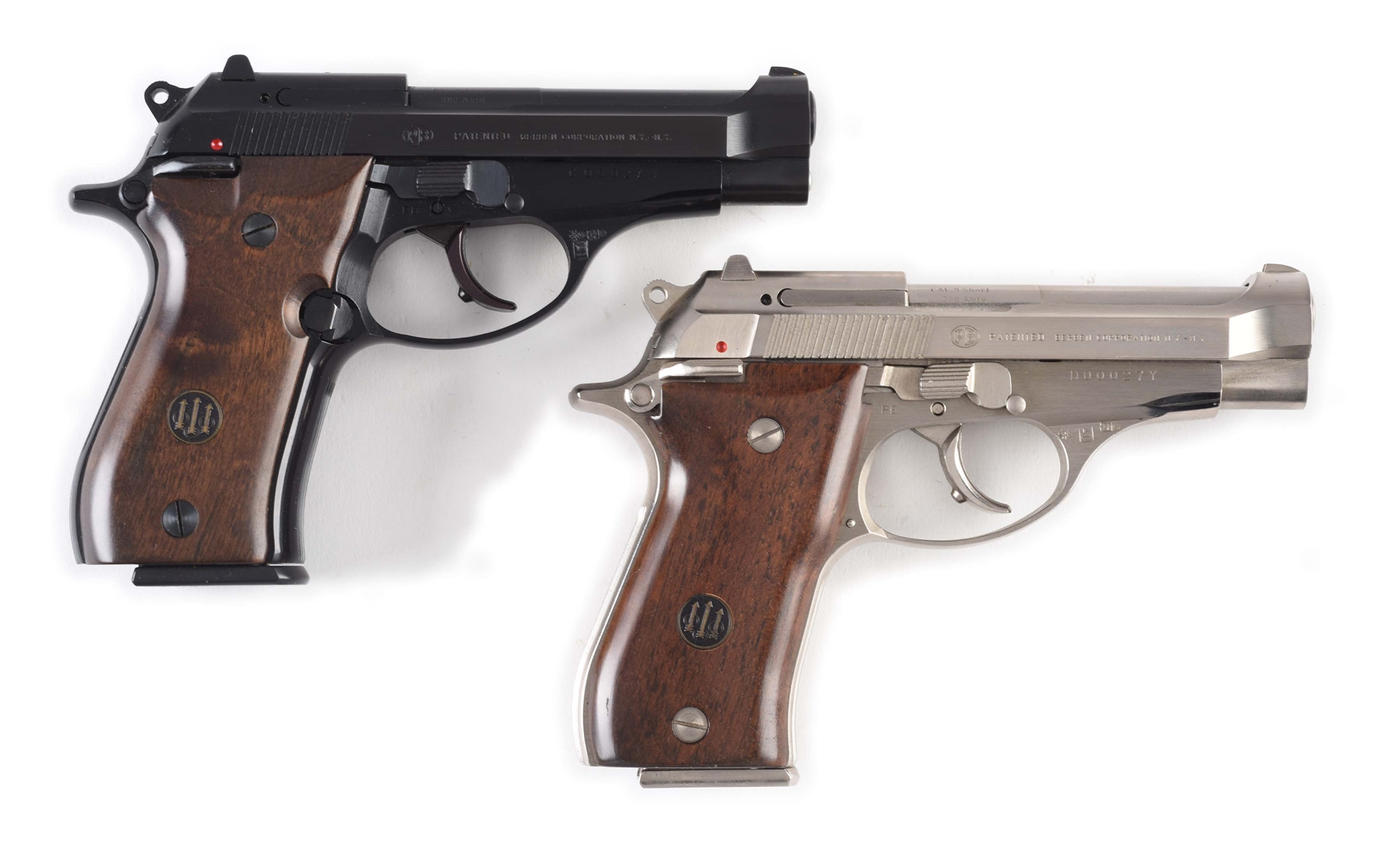 (M) Lot of 2: Beretta Model 84 and 85 with Same Serial Numbers.