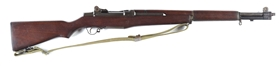 (C) H&R M1 Garand Semi-Automatic Rifle.