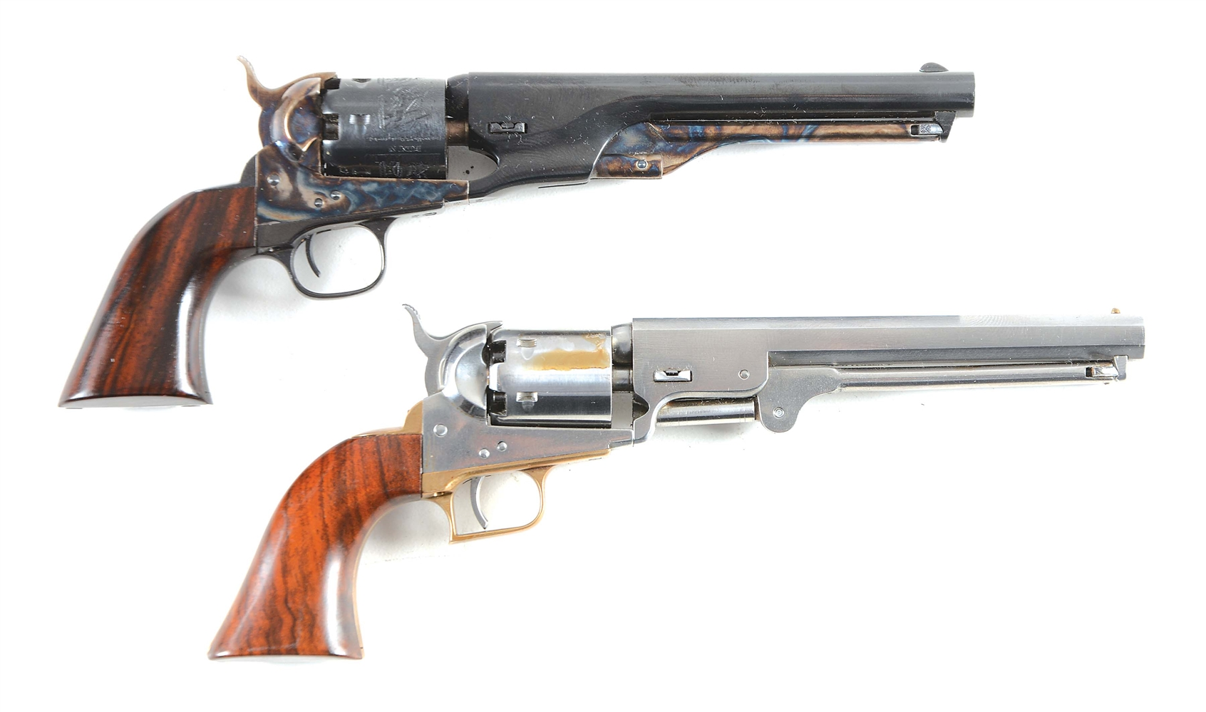 Lot of 2: Uberti Miniature Navy Percussion Revolvers.