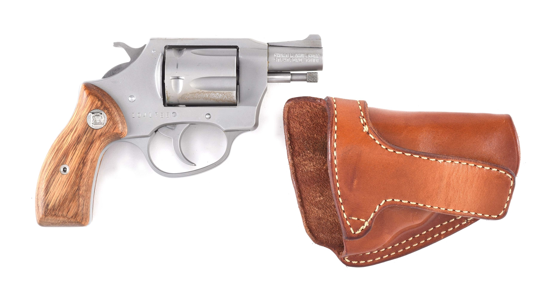 (M) Charter Arms Off Duty Snub Nose Double Action Revolver.