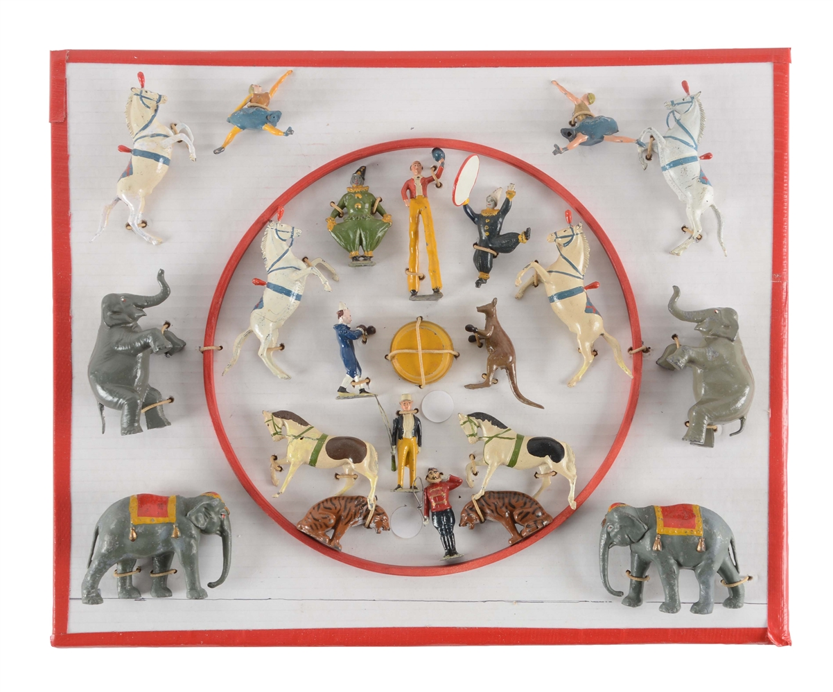 English Britains Mammoth Circus Figure Set.