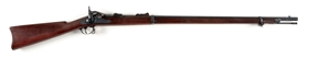 (A) US SPRINGFIELD MODEL 1873 TRAPDOOR RIFLE.
